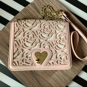 Betsey Johnson crossbody purse